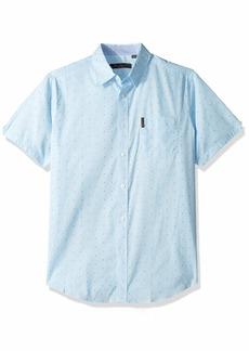 Ben Sherman Men's SS GEO Maze Print Shirt  S