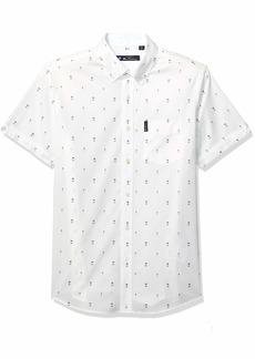 Ben Sherman Men's SS ICE Lolly GEO Shirt  XXL