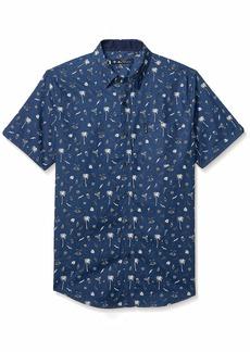 Ben Sherman Men's SS Palms Print Shirt  M