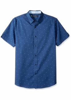 Ben Sherman Men's SS Paper Plane PRNT Shirt  XXL