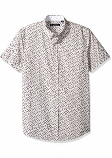 Ben Sherman Men's SS Pineapple Print Shirt  L