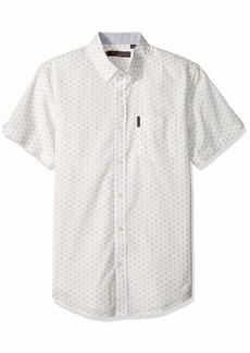 Ben Sherman Men's SS Starburst Print Shirt  S
