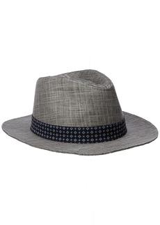 Ben Sherman Men's Textured Linen Trilby Hat  S-M