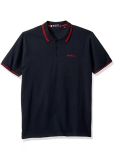 Ben Sherman Men's Tipped Pique Polo