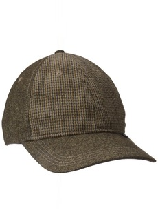 Ben Sherman Men's Wool Baseball Cap  S-M