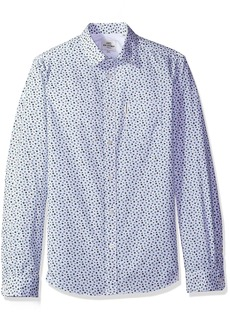 Ben Sherman Men's Longsleeve Geo PRT Shirt