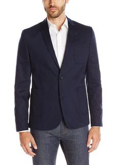 Ben Sherman Men's Woven Pique Blazer