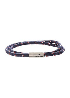 Ben Sherman Men's Wraparound Dotted Cord Bracelet