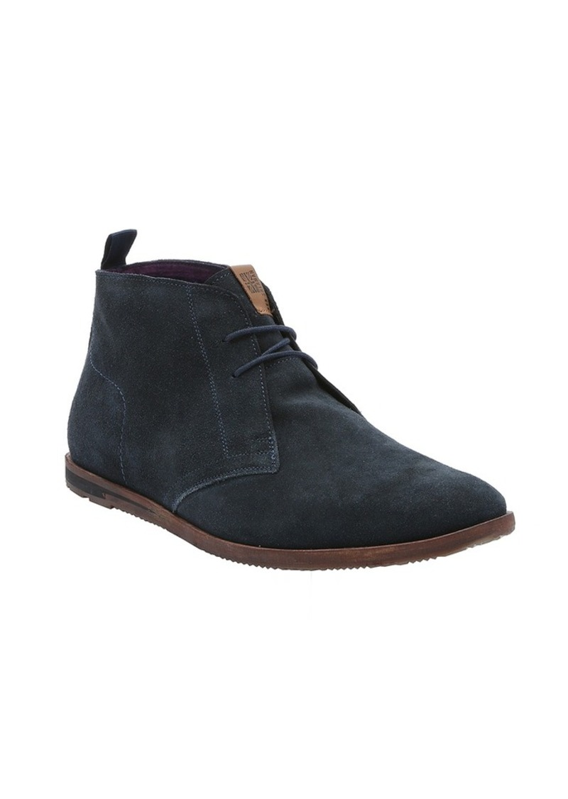 ben sherman ben sherman navy suede 39 aberdeen 39 lace up chukka boots shoes shop it to me. Black Bedroom Furniture Sets. Home Design Ideas