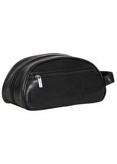 Ben Sherman Noak Hill Collection Vegan Leather Toiletry Travel Kit  Dome