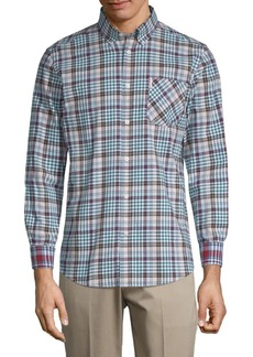 Ben Sherman Plaid Button-Down Shirt