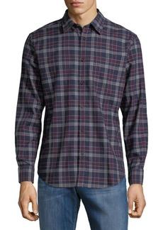 Ben Sherman Plaid Cotton Button-Down Shirt