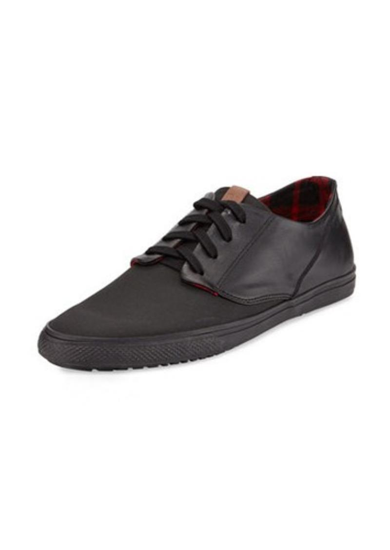 ben sherman ben sherman ron faux leather canvas sneaker shoes shop it to me. Black Bedroom Furniture Sets. Home Design Ideas