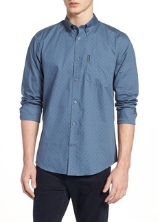 Ben Sherman Slim Fit Dot Sport Shirt