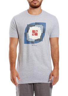 Ben Sherman Square Target Graphic Crewneck T-Shirt