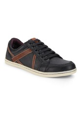 Ben Sherman Textured Lace-Up Sneakers