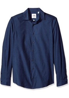 Ben Sherman  Tonic Poplin Men's Slim Fit Dress Shirt