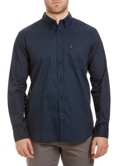 Ben Sherman Trim Fit Button-Down Sport Shirt