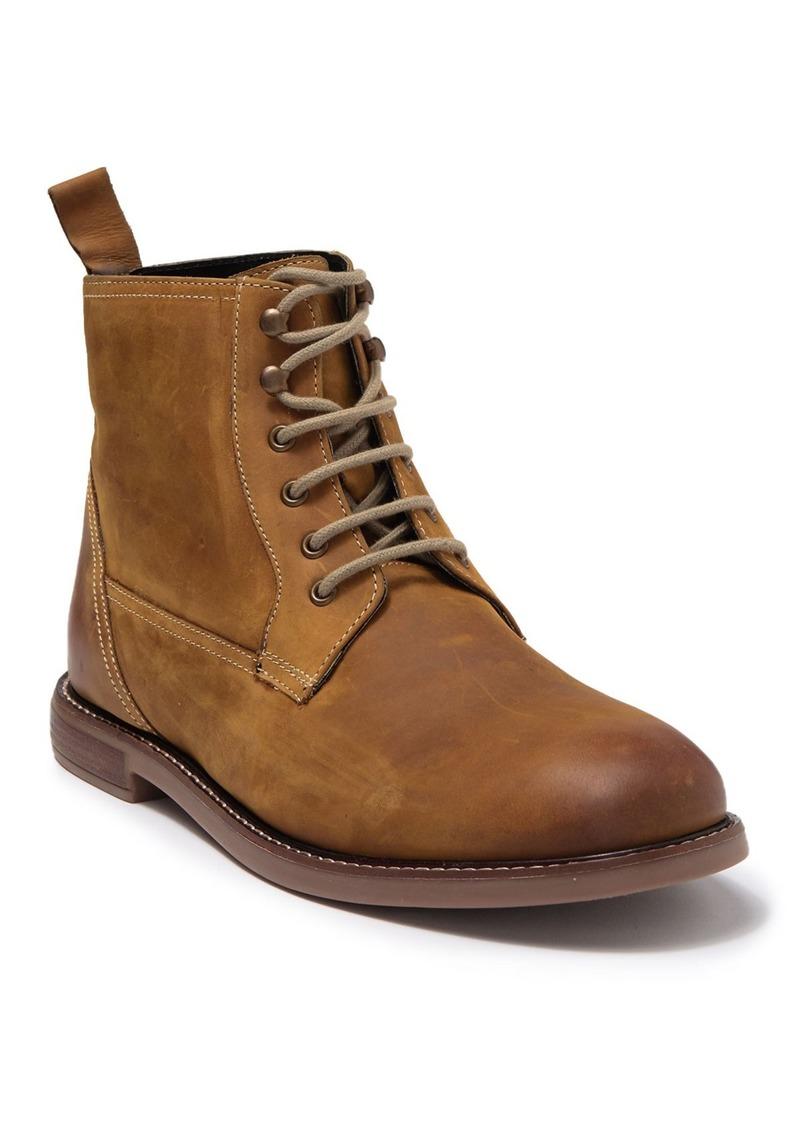 Ben Sherman Birk Leather Plain Toe Boot