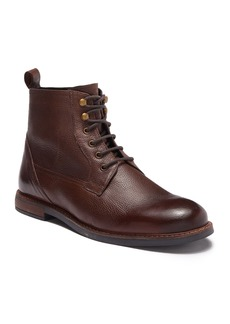 Ben Sherman Birk Plain Toe Leather Boot