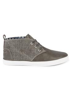 Ben Sherman Brahma Chukka Mixed-Media Ankle Sneakers