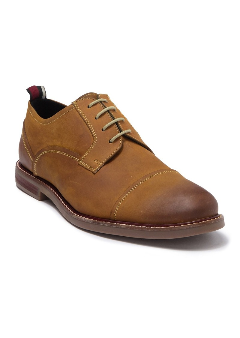 Ben Sherman Brent Leather Cap Toe Derby