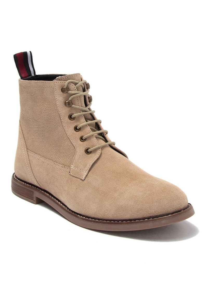 Ben Sherman Brent Suede Plain Toe Boot
