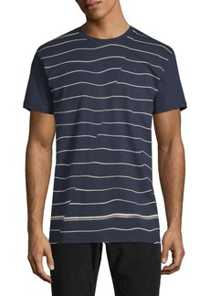 Ben Sherman Breton Stripe Cotton Tee