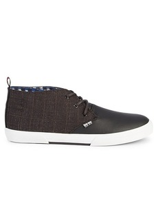 Ben Sherman Bristol Plaid Chukka Sneakers
