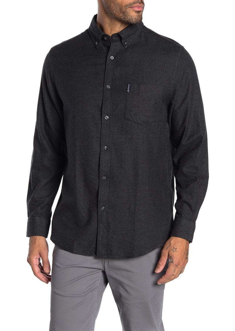Ben Sherman Brushed Woven Classic Fit Shirt