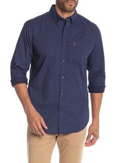 Ben Sherman Checker Dots Print Shirt