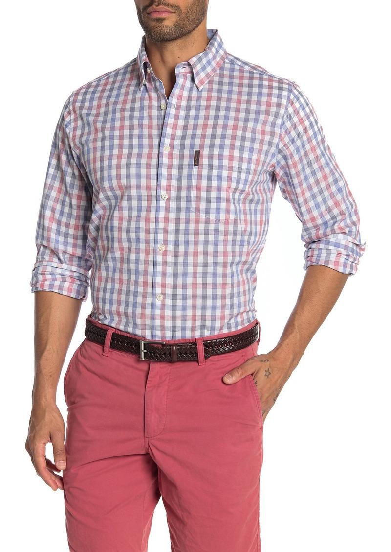 Ben Sherman Checkered Long Sleeve Classic Fit Shirt