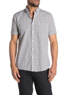 Ben Sherman Checkered Short Sleeve Mod Fit Shirt