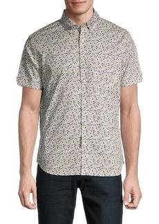 Ben Sherman Classic-Fit Floral Digi-Print Shirt