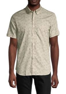 Ben Sherman Classic-Fit Line-Print Shirt