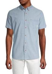 Ben Sherman Classic-Fit Short-Sleeve Shirt