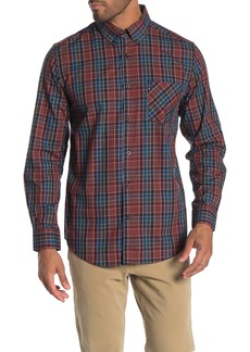 Ben Sherman Combo Check Plaid Classic Fit Shirt