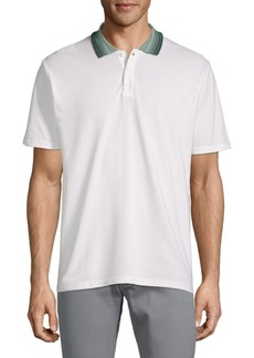 Ben Sherman Cotton Birdseye Polo
