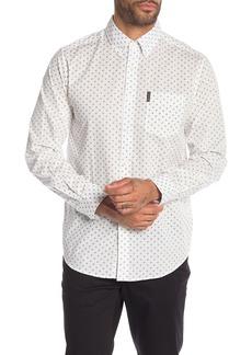 Ben Sherman Diamond Geo Print Classic Fit Shirt