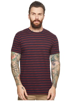 Ben Sherman Distorted Stripe Crew T-Shirt