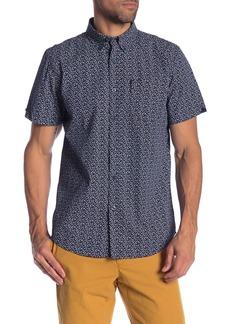 Ben Sherman Ditsy Floral Short Sleeve Union Fit Shirt
