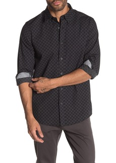 Ben Sherman Dot Checkerboard Classic Fit Shirt