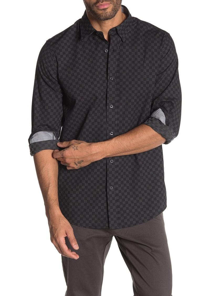 Ben Sherman Dot Checkerboard Classic Fit Shirt