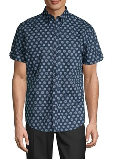 Ben Sherman Floral Button-Down Shirt