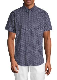 Ben Sherman Floral Cotton Sport Shirt