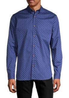 Ben Sherman Flower-Print Shirt
