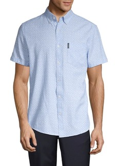 Ben Sherman Geo Print Button-Down Shirt