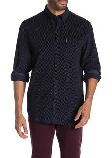 Ben Sherman Geometric Print Corduroy Classic Fit Shirt