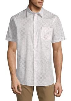 Ben Sherman Geometric-Print Cotton Shirt