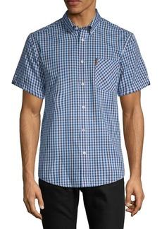 Ben Sherman Gingham Button-Down Shirt